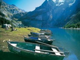 Lac d'Oeschinensee - Alpes Suisse
